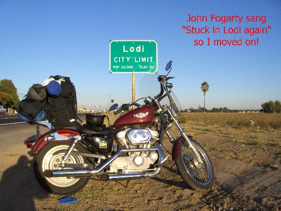 Motorcycle Road Trip South