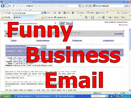 Funny Business Email