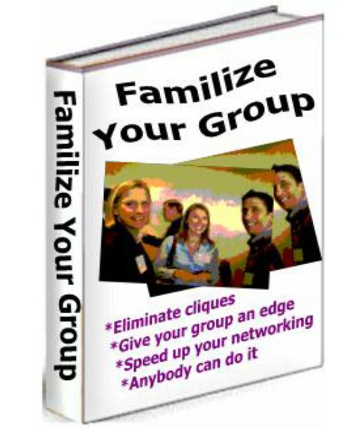 Use With Any Group!